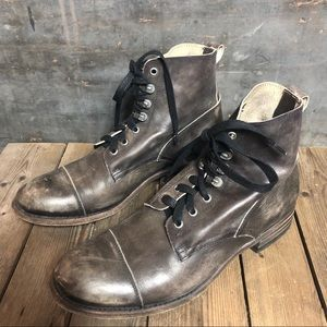 Men's Sendra Distressed Leather Boots